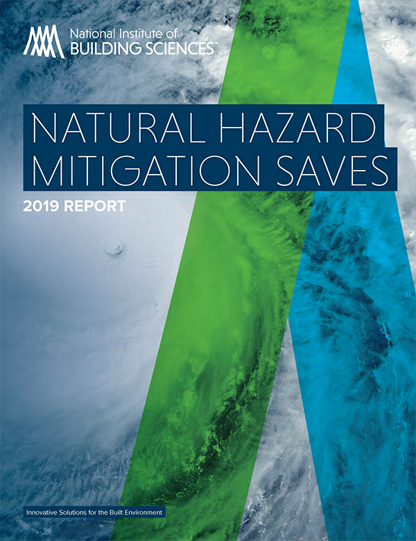 Natural Hazard Mitigation Saves 2019 Report cover